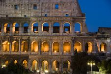 Free The Colosseum Royalty Free Stock Image - 20614496