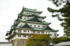 Free The Japanese Fort Of Nagoya Castle Royalty Free Stock Photo - 20614545
