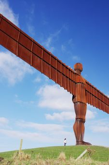 Massive Angel Of The North Stock Photos