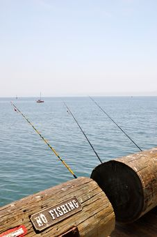 Free Santa Barbara Pier Stock Image - 20614891