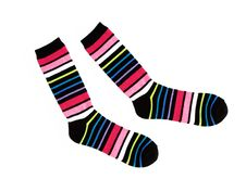 Free New Multicolor Striped Cotton Socks Stock Images - 20615334