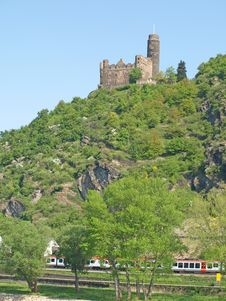 Burg Maus Royalty Free Stock Images