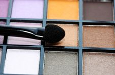 Multicolored Eye Shadows. Stock Images