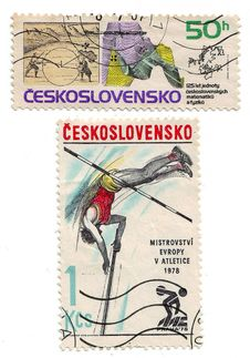 Free Stamp From Ceskoslovensko Royalty Free Stock Images - 20616519