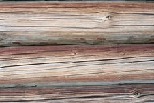 Free Old Cracked Beams Royalty Free Stock Images - 20616649
