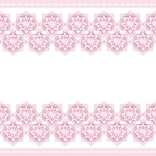 Pink Wallpaper Pattern Stock Photos