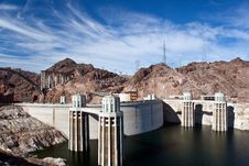 Free Hoover Dam Lake Mead USA Royalty Free Stock Photo - 20619085