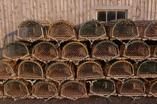 Free Lobster Traps 1 Royalty Free Stock Image - 20619266