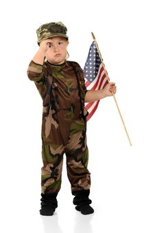 Free Tiny Homesick Soldier Royalty Free Stock Images - 20619409