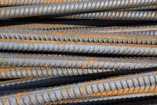 Free Twisted Steel Construction Materials Stock Images - 20619564