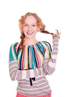 Free Redhead Girl Stock Image - 20619921