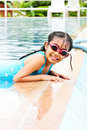 Free Girl Have Fun In The Pool Royalty Free Stock Photos - 20623128
