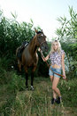 Free Woman With Horse Royalty Free Stock Images - 20624329