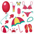 Free Summer Collection Royalty Free Stock Image - 20628566