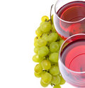 Free Glass Of Red Wine And Grape Stock Image - 20629841