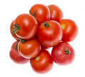 Free The Red Tomato Isolated On White Stock Photo - 20629870