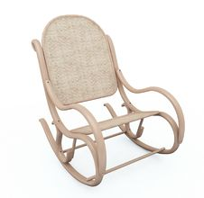 Rocking Chair Royalty Free Stock Photos