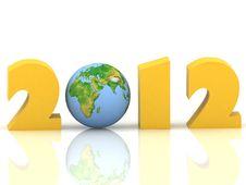 Free 2012 Year Stock Photo - 20620050