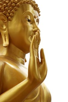 Free Hand Posture Of Buddha Image Royalty Free Stock Photos - 20620158