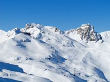 Free Skiing Slope Royalty Free Stock Images - 20620529