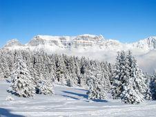 Free Winter In Alps Stock Photo - 20620590