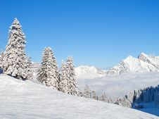 Free Winter In Alps Royalty Free Stock Photos - 20620608