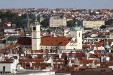 Prague - Skyline Stock Photo