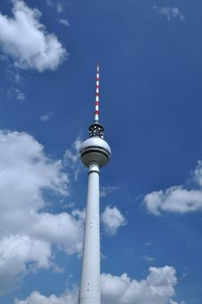 Free Fernsehturm Berlin Royalty Free Stock Photography - 20621417