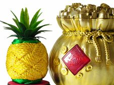 Free Pineapple And Good Fortune Stock Photos - 20621583