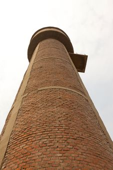 Free Red Brick Storage Water Tower Royalty Free Stock Image - 20621786
