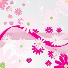 Free Abstract Flowers Background Stock Image - 20622181