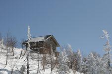Snow Hut Stock Images
