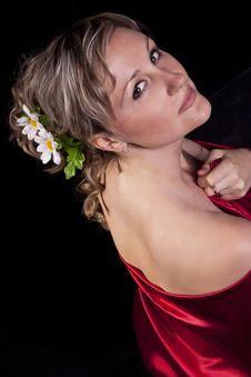 Free Woman In Studio Stock Photos - 20623233