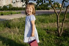 Free Little Girl Outdoors Stock Photos - 20623283