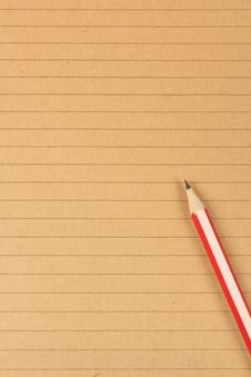 Free Brown Writing Paper Background Royalty Free Stock Photo - 20623695