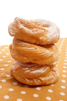 Doughnuts With Sugar Stock Images
