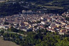 Free Areal View Of Fossombrone Stock Photo - 20624900
