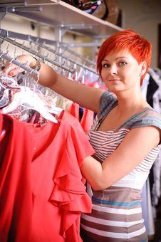Free Happy Woman Shopping Stock Photo - 20625060