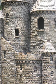 Free Plastic Castle Royalty Free Stock Photos - 20625128