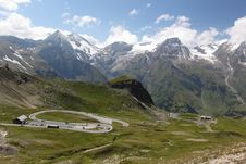 Free Grossglockner Panorama Road Royalty Free Stock Photo - 20625605