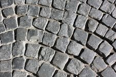 Paved Royalty Free Stock Photo