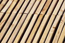 Wood  Plank Road Stock Images