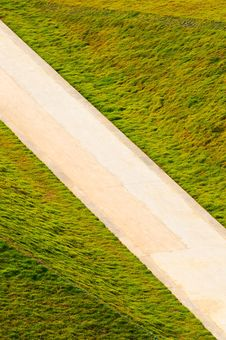 Free Road  In  Grasses Royalty Free Stock Image - 20625986