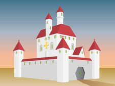 Free Fairy Tale Castle Royalty Free Stock Image - 20626106