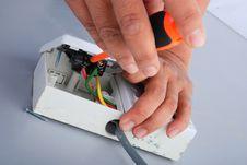 Repair Of Electric Socket
