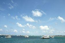 Free Horizon Of Indian Ocean In Maldives Stock Image - 20626531