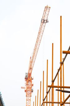 Free Scaffold In Construction Site Stock Image - 20626651