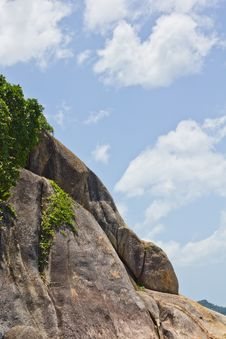 Free Grandfather Rock Koh Samui Thailand Stock Photos - 20626963