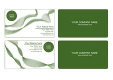 Free Green Business Card Stock Image - 20627401