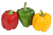 Free Color Bulgarian Peppers Royalty Free Stock Images - 20627699